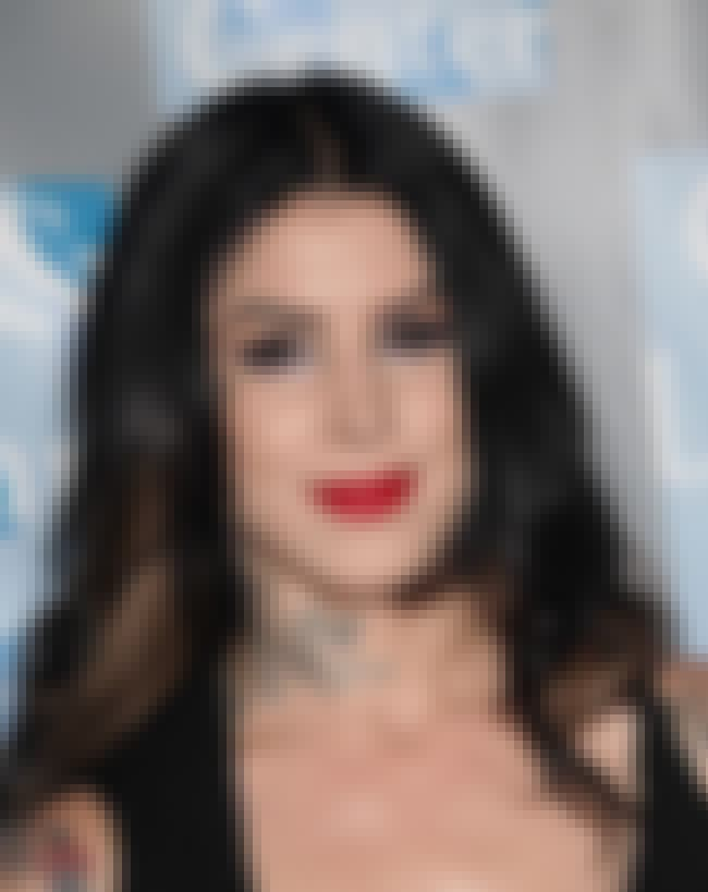 Kat Von D is listed (or ranked) 5 on the list The Best Reality Stars on Twitter