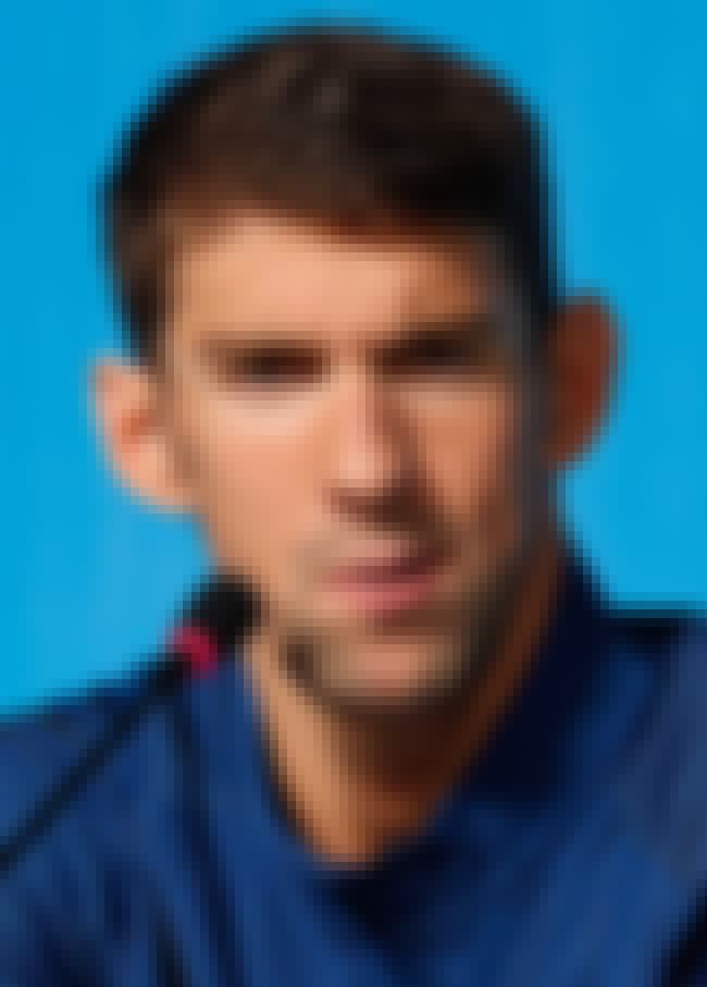 Michael Phelps is listed (or ranked) 2 on the list 19 Famous People with Lisps
