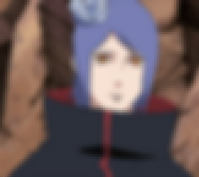 Konan is listed (or ranked) 14 on the list List of All Naruto Villains