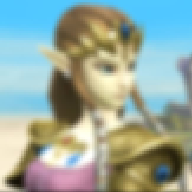 Princess Zelda is listed (or ranked) 2 on the list Vivid Vivacious Video-game Vixens