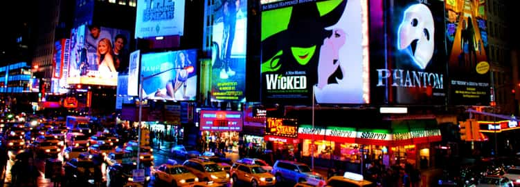 Lights Are Bright on Broadway