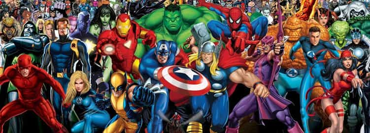 The Universe of Marvel Comics
