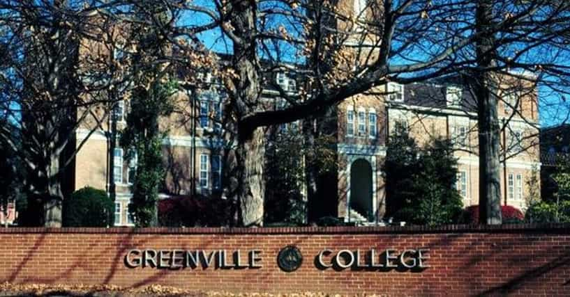 Illiois Greenville College Campus Map on