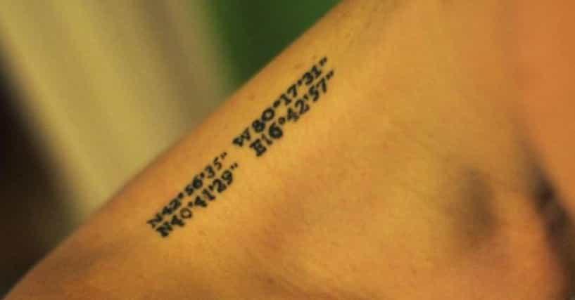 number tattoo ideas photos of number tattoos. Black Bedroom Furniture Sets. Home Design Ideas