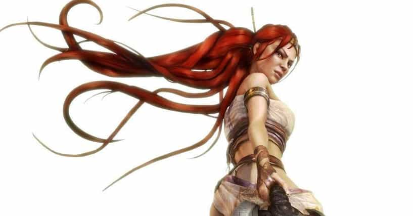 the best video game characters with red hair