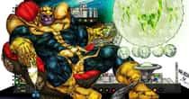 Fan Art Of Thanos Just Chillin'