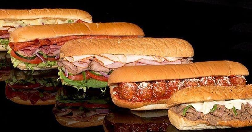 ranking subway menu items  best subway sandwiches  wraps