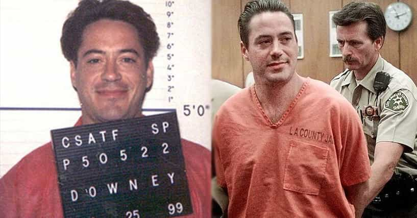 Everything We Know About Robert Downey Jr's Time In Prison