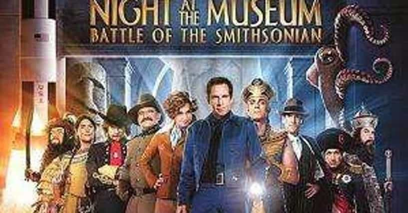 Night At The Museum: Battle Of The Smithsonian Cast List ...
