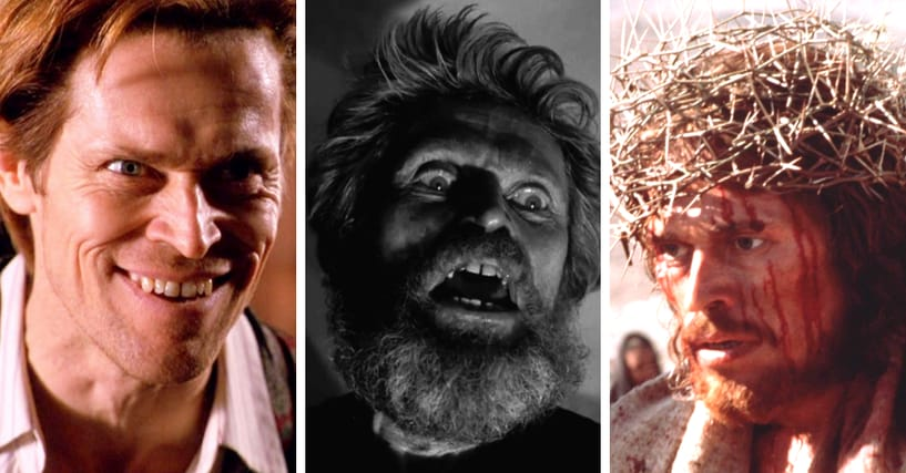 The Weirdest Willem Dafoe Performances That Prove He's Great In Everything