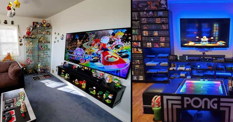 21 Visually Satisfying Nintendo Setups That Belong In A Museum