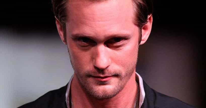 Alexander Skarsg rd Addresses Those Charlize Theron Dating Rumors