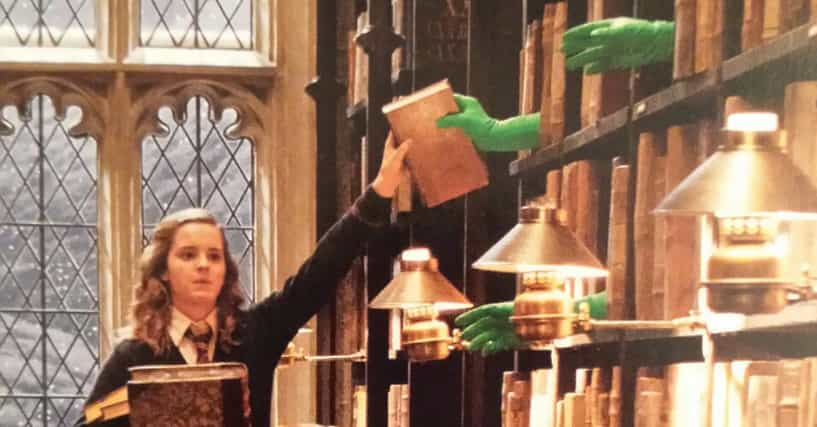 Behind The Scenes Images From The Harry Potter Movies