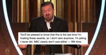 The Most Savage Roasts From Ricky Gervais's 2020 Golden Globes Opening Monologue