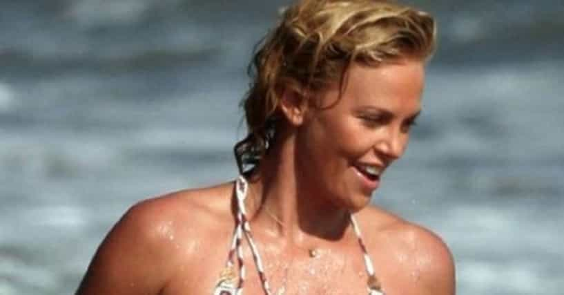 Charlize Theron Bikini Pics  Hot Body, Swimsuit, And -1412