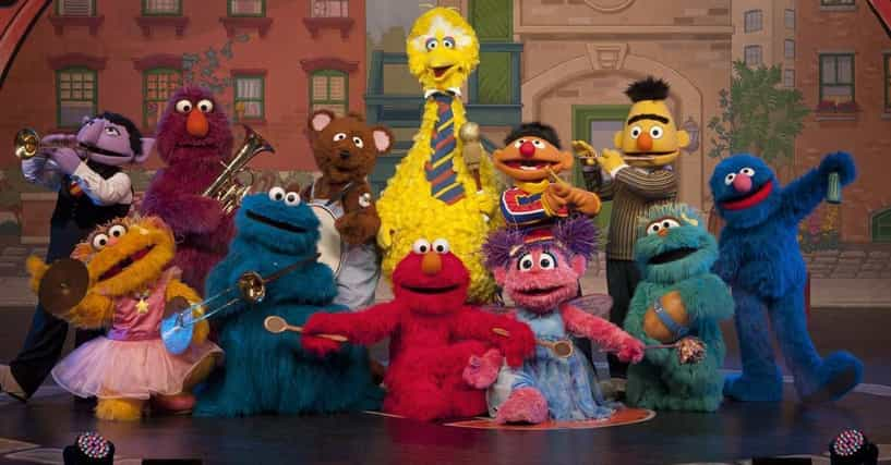 Sesame Street Characters List W Photos