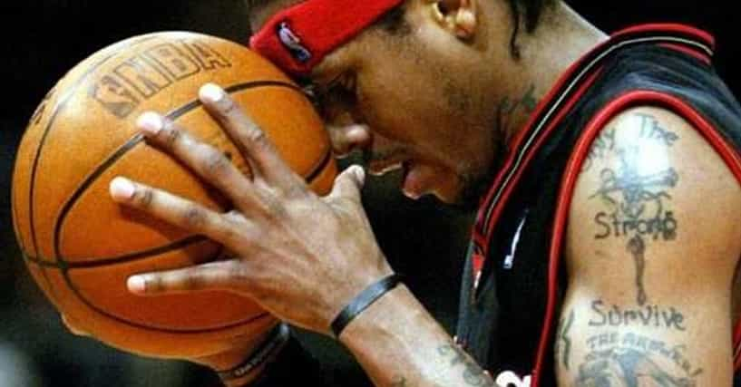 allen iverson tattoos list of allen iverson tattoo designs. Black Bedroom Furniture Sets. Home Design Ideas