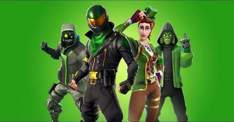 Fortnite With All Weird Colors All The Best Green Skins In Fortnite Ranked By Gamers