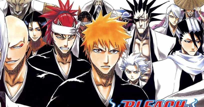Anime Characters Ranker : Bleach characters list