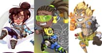22 Staggeringly Adorable Chibi Overwatch Characters