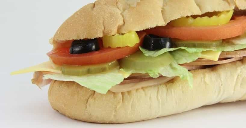 subway sandwich toppings ingredients. Black Bedroom Furniture Sets. Home Design Ideas