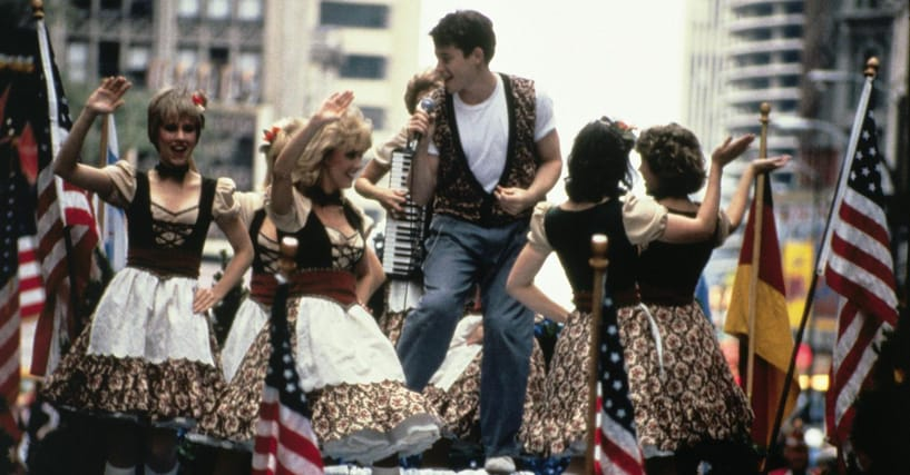 Behind The Scenes Of The Famous Parade Scene In 'Ferris Bueller's Day Off'