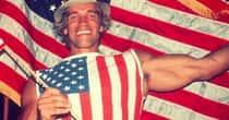 20 Hilarious Old Photos of Arnold Schwarzenegger Doing Stuff
