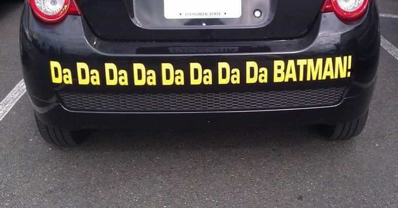 Funny Bumper Stickers And Decals On Cars