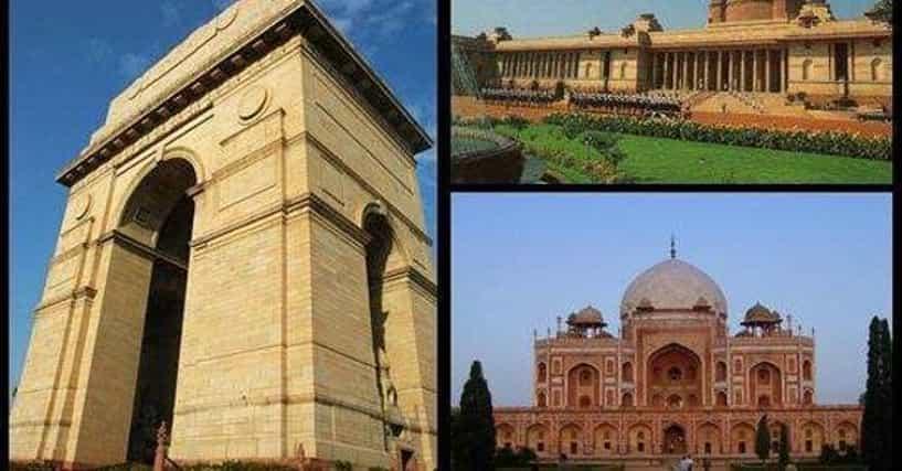 Delhi Architecture List Of Famous Delhi Buildings And Landmarks