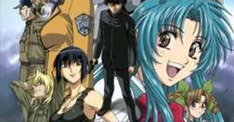 Anime Characters Ranker : List of all full metal panic characters ranked best to worst