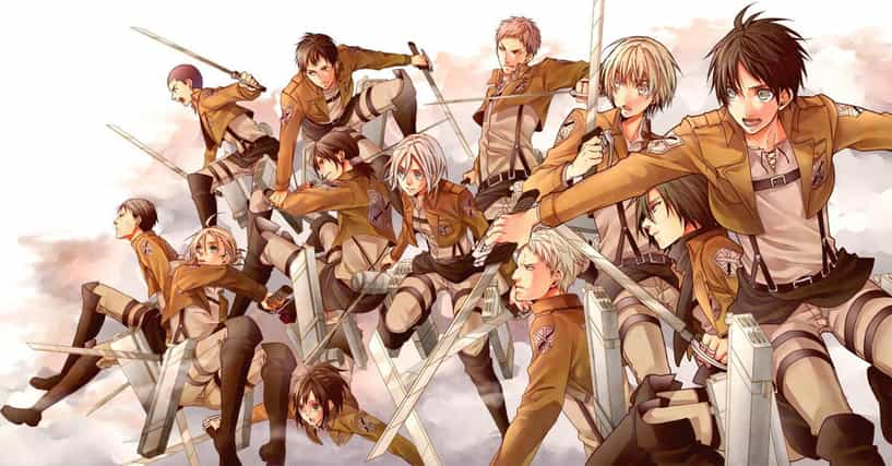 List Of All Attack On Titan Anime Characters Ranked By Fans