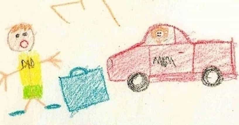 22 funny kids drawings that say a lot about their parents - Kids Drawings