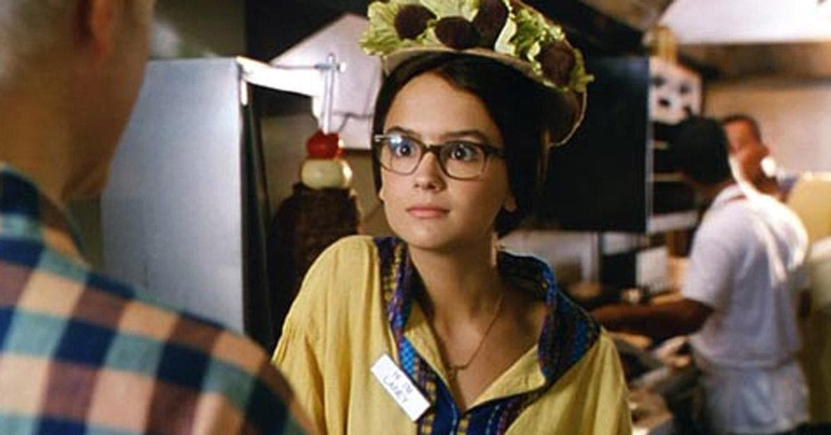 Hot nerdy girl