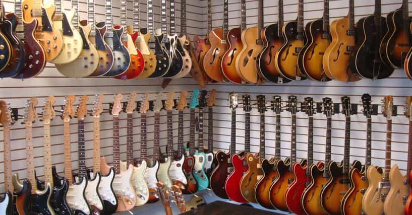 Best guitar stores in america list of online retailers for List of online retailers
