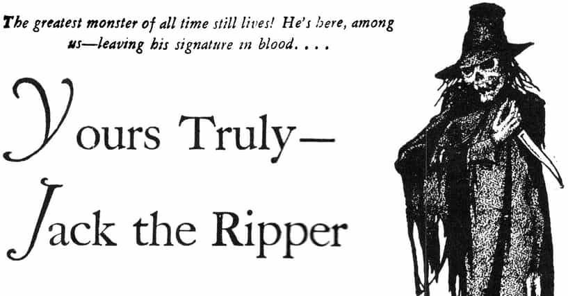the chilling details of the notorious killer jack the ripper from london Private guided jack the ripper alleys where jack the ripper—london's most notorious serial of infamous jack the ripper chilling facts & legends.
