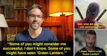 Ryan Reynolds Can't Stop Bashing 'Green Lantern'
