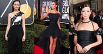 The Biggest Fashion Risks On The 2018 Golden Globes Red Carpet