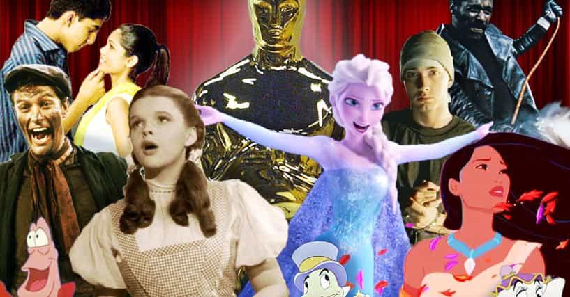 Best oscar winning songs list of academy award winners for Academy award winning movies