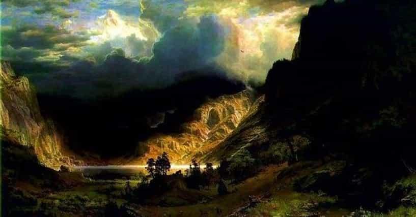 Famous Albert Bierstadt Landscape Arts List Popular