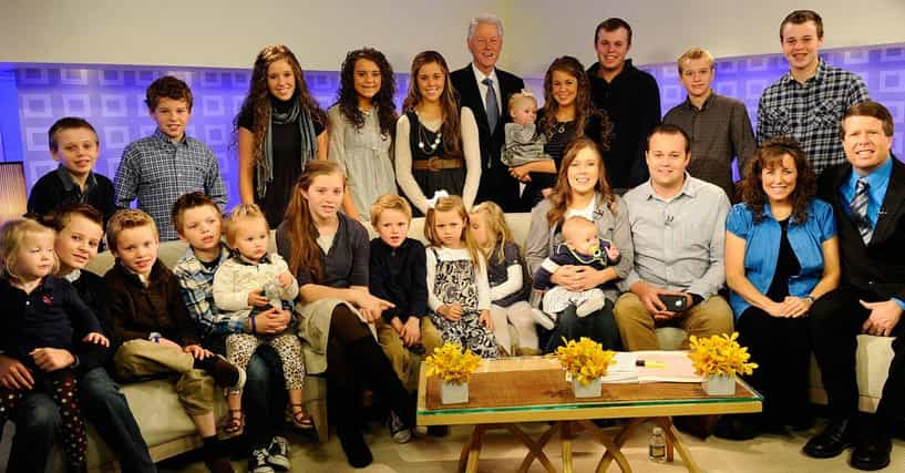 The daughters duggar of names Do The
