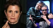 Here's A Bunch Of Pictures Of Carrie Fisher Flipping People Off