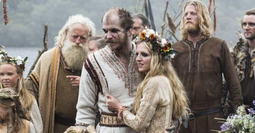 Highly Symbolic And Kind of Outlandish Viking Wedding Traditions And Rituals