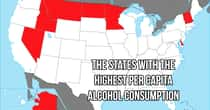 How Much Alcohol People Drink In Every State