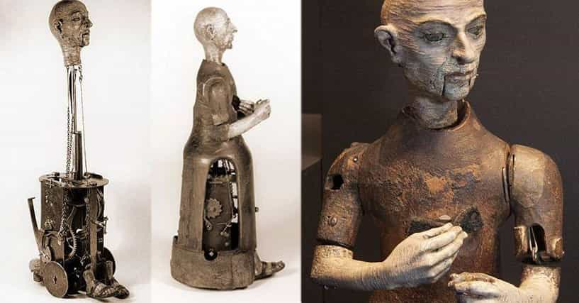 10 Primitive Historical Attempts At Creating Robots