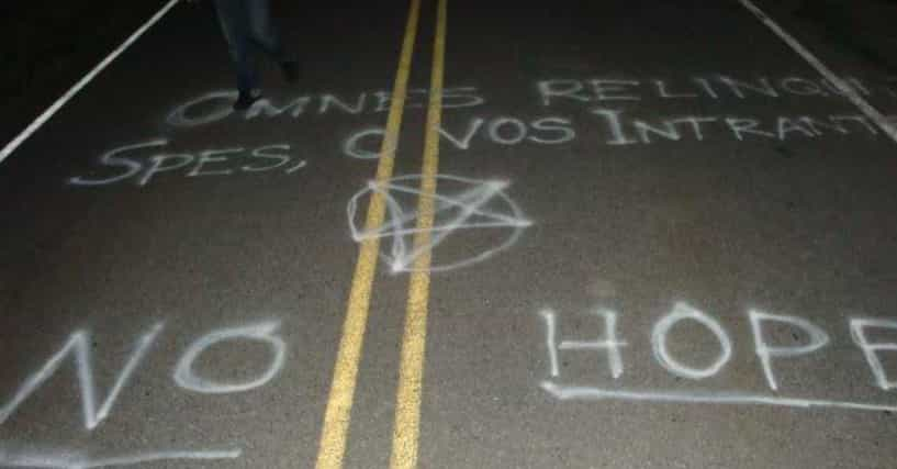 New Jersey S Clinton Road Home To Ghosts Satanists And