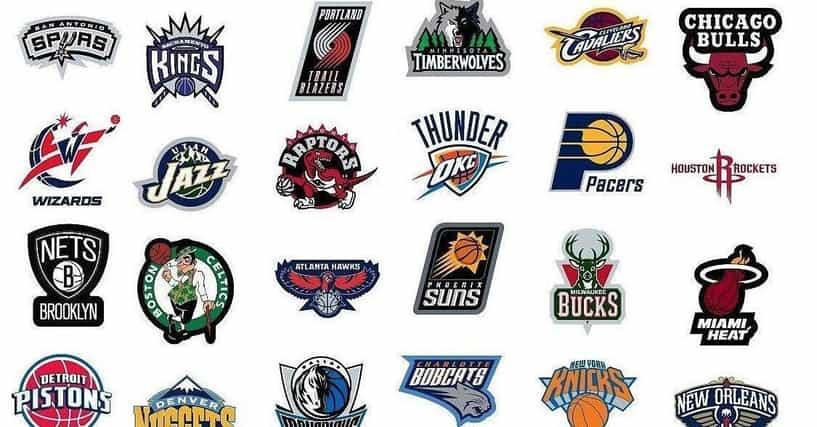 best nba team logos list of coolest basketball team insignias