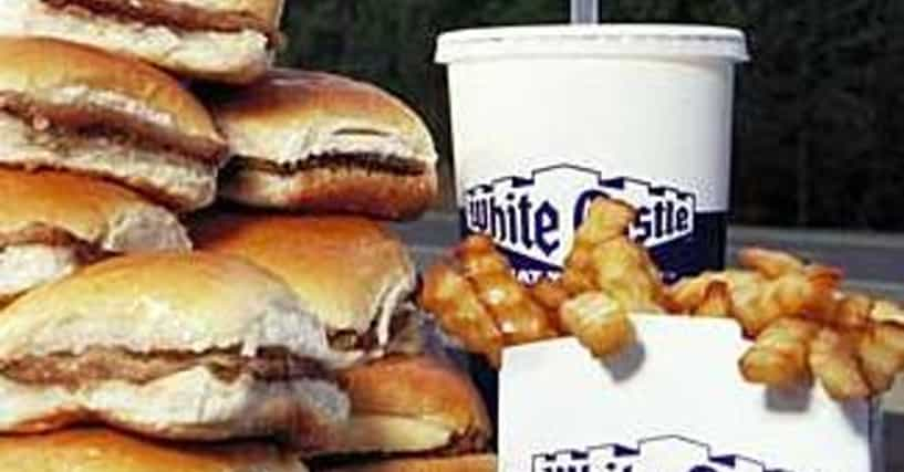 Fast Food Burger Places Ranked