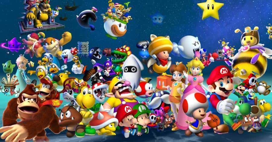 Complete List Of All Super Mario Brothers Characters