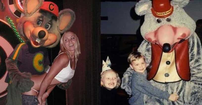 The Creepiest Chuck E. Cheese Photos Of All Time