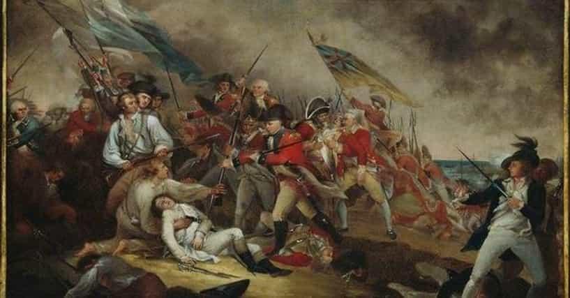 American Revolutionary War Battles List Of Battles In